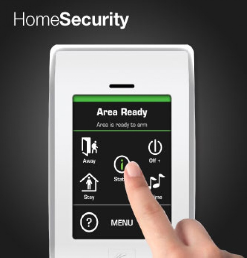 good hills wired solution with self monitoring home security systems