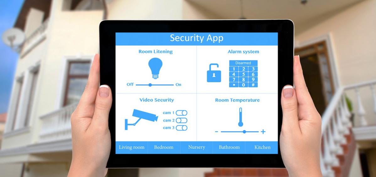 Smart Home Alarm Security Monitoring App Melbourne