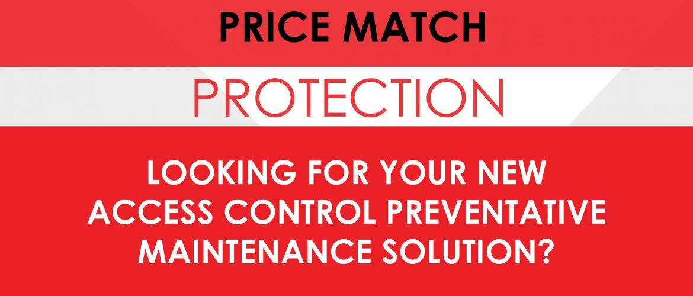 Price Match button